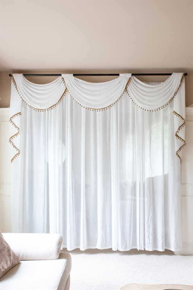 White Sheer White Curtains Living Room Sheers Curtains Living Room Curtains #sheer #valances #for #living #room