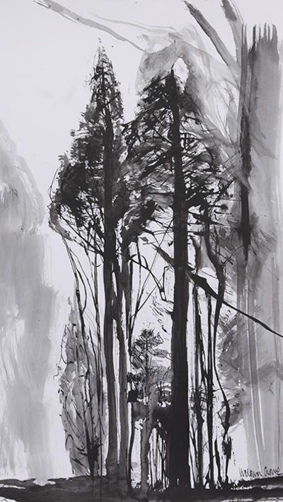 Victoria Crowe, Towering Trees