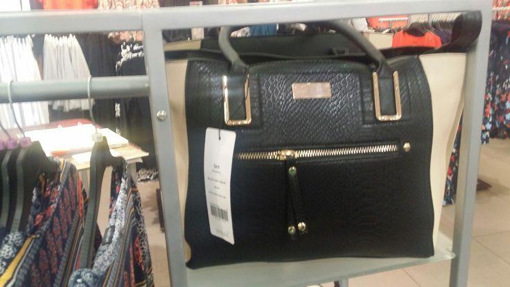 Black and tan handbag, Miladys