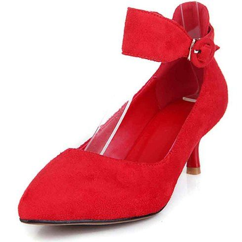 Buy womens red leather dress shoes online, Free shipping Aus, US, UK, CA, International | ShoeEver.com 1728WS