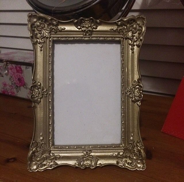 Gold Frame 4x6 - Bidding