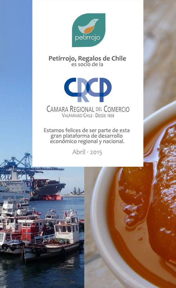 Petirrojo, regalos corporativos basados en sabores artesanales, es ahora socio activo de la Cámara de Comercio de nuestra región, lo que respalda la seriedad y responsabilidad habitual de nuestro trabajo.