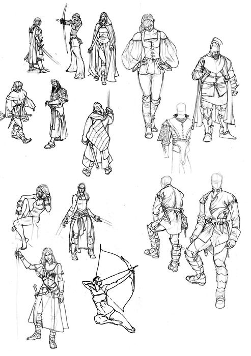 Fantasy Character Design Tutorial : Best art stuff images on pinterest character concept