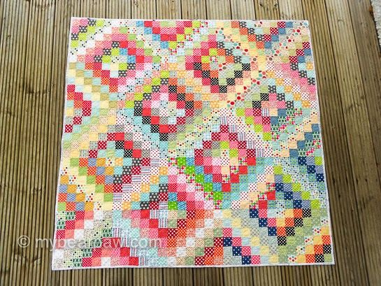 25 Best Scrappy Trip Around The World Quilts Images On