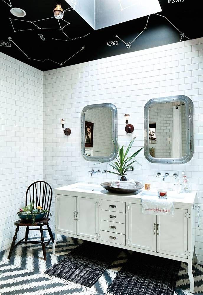 379 best Cool Bathroom Walls & Floors images on Pinterest | Bathroom ...