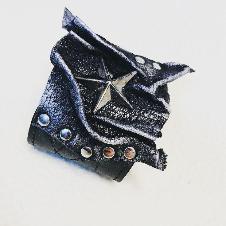 EvilEve Leather cuff for MEN ! A-men.  #EvilEve #evilevedesign #leathercuff #mensfashion #menswear #fashion #picoftheday
