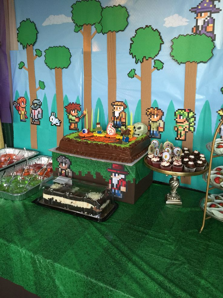 64 best terraria party images on pinterest terraria for Handmade decoration