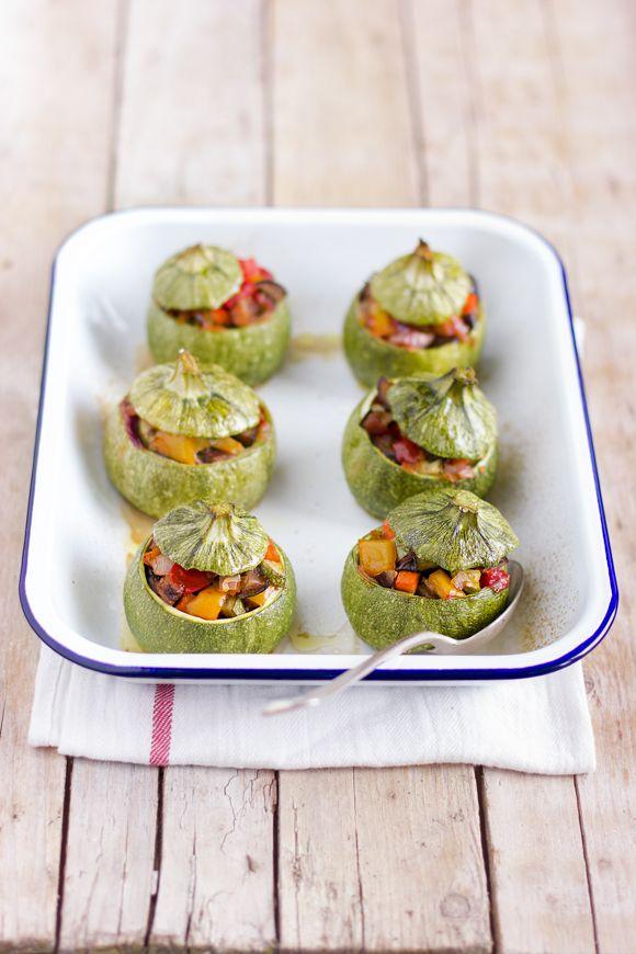 giroVegando in cucina: Zucchine ripiene di ortaggi