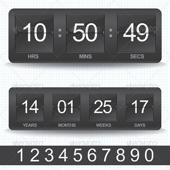 Realistic Graphic DOWNLOAD (.ai, .psd) :: http://sourcecodes.pro/pinterest-itmid-1007514517i.html ... Countdown Timer  ...  analog, clock, count, countdown, device, display, equipment, hour, icon, illustration, indicator, machine, measurement, number, numeral, object, outdated, panel, remaining, sign, time, timer, timetable, watch  ... Realistic Photo Graphic Print Obejct Business Web Elements Illustration Design Templates ... DOWNLOAD…