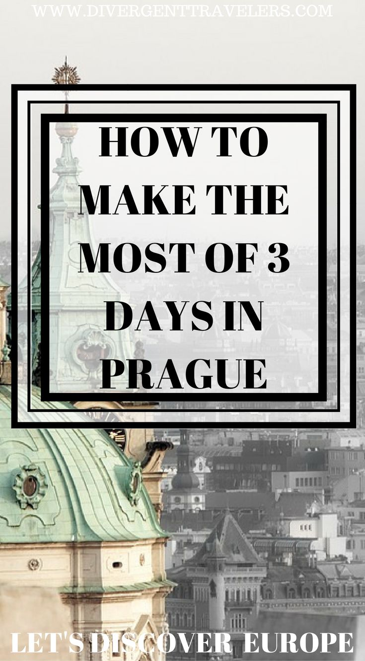 How to make the most of 3 days in Prague. Let's discover Prague. It's hard to make the most out of your visit to Prague. It's a European city that is jam packed with lots to do and see. We have put together one of the best travel guides online highlighting how to make the most of 3 days in Prague. This is a must read if you are planning a visit to Prague. Click to read more #Prague #Travel #Guide