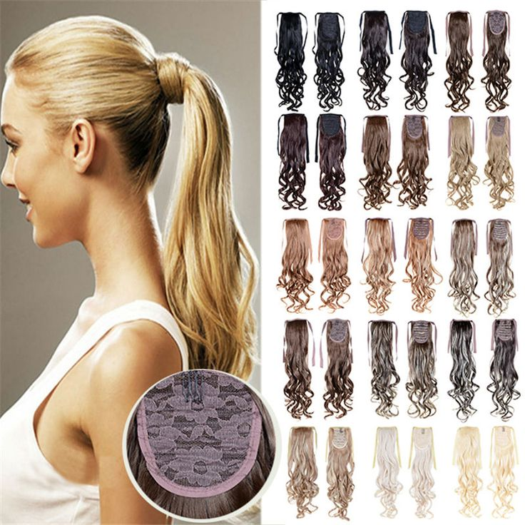 Best 25 ponytail hair piece ideas on pinterest pre braided hair wrap around clip in on ponytail hair extensions real natural ponytail hair piece pmusecretfo Choice Image