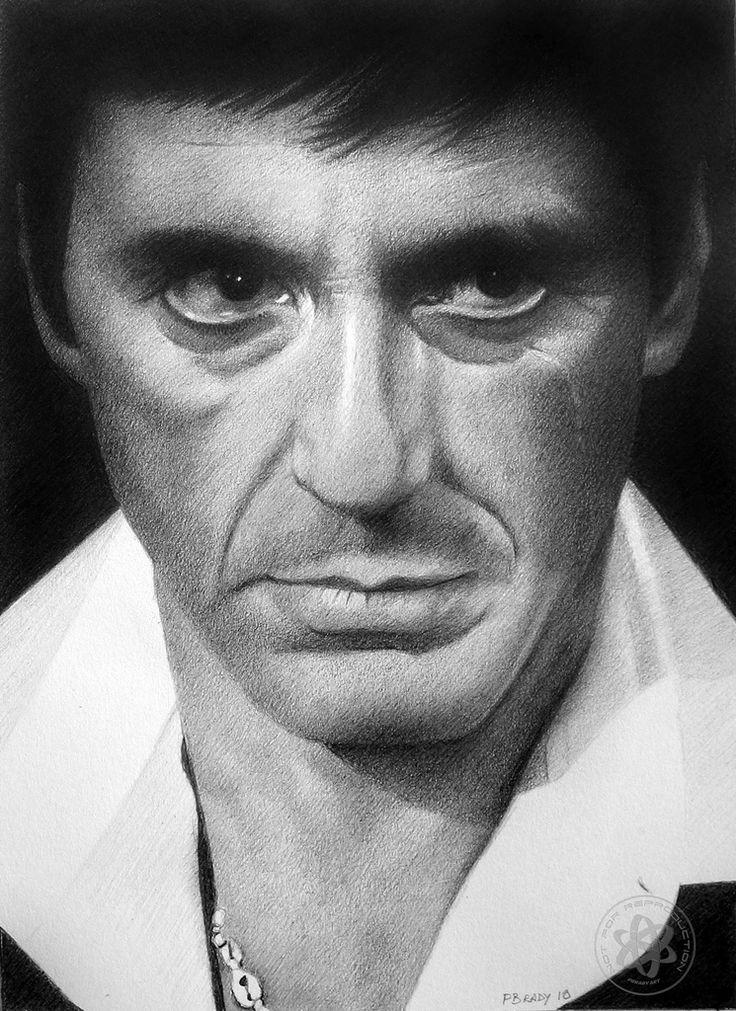 Pencil #Drawings Of Film Stars by Paul Brady #art