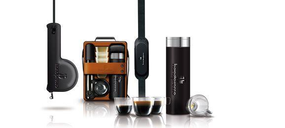 Первая в мире экологичная, неэлектрическая, портативная машина для приготовления кофе эспрессо!