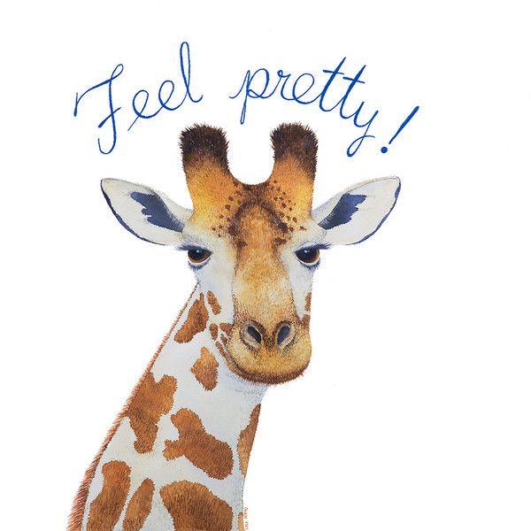 Feel Pretty..! Art Giclée Print⎢Available in: Dulce Porvenir Print Shop (30 €)