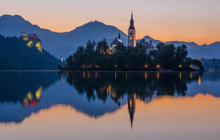 ღღ Slovenia - Lake Bled by César Asensio ~~~ Magnificent !!!