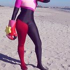 [self] Garnet of Steven Universe Cosplay: Photoshoot at the beach