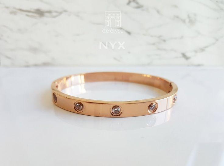 Nyx Rose Gold Bangle