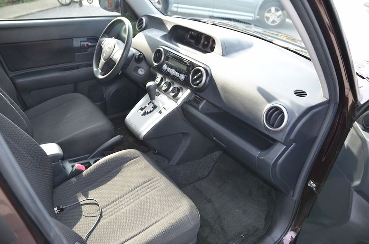 Interior Front -Passenger Side- view of the 2009 Toyota Scion XB For Sale