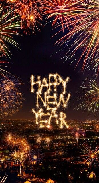 Happy New Year! °•●☆