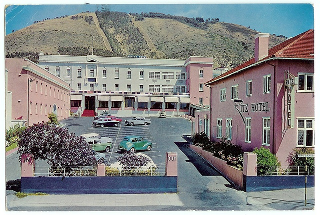 The Ritz, Sea Point 1966 - Sjoe. I remember this. Before the other one was built. The one with the swanky spinning restaurant.