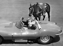 Steve McQueen & his Jaq.