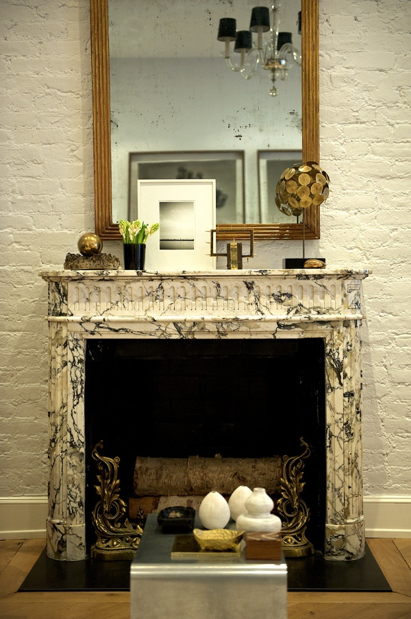 Nate Berkus' home in the west village (Matchbook Feb '13; photograph by Carol Dronsfield)