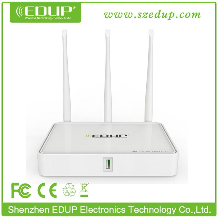 EDUP EP-RT2631 High Power with USB Port Enerprise AC Management 300Mbps Wifi Router