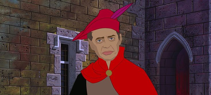 And Steve Buscemi as Prince Philip.