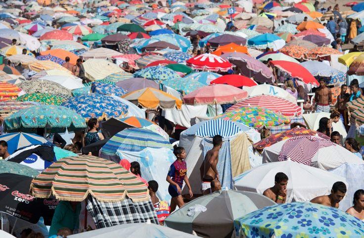 Zatłoczone plaże