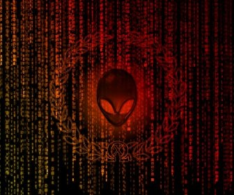 matrix alienware HD Wallpaper
