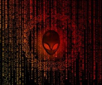 matrix alienware HD Wallpaper