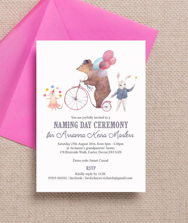 31 best Kids Naming Day Invitations images on Pinterest - naming ceremony invitation