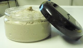 Point of Interest!: Experiments in the workshop: Black cocoa butter emulsified sugar scrub