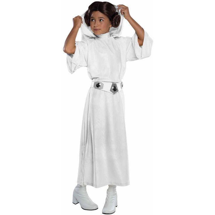 Halloween Costumes Kids: Rubies Costume Star Wars Classic Princess Leia Deluxe Child Costume Medium 8-10 -> BUY IT NOW ONLY: $36 on eBay!