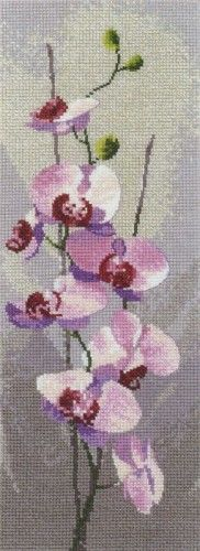 Вышивка Розовые орхидеи (Heritage)