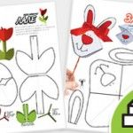 PAPER TOY PRINTABLES (Animals and Objects)