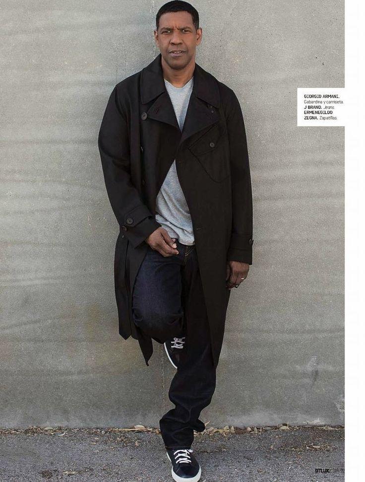 Denzel Washington para DT Lux Magazine Octubre 2014