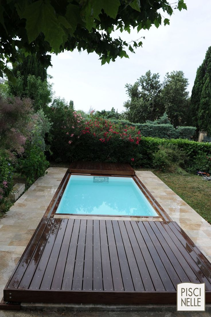 45 best terrasse mobile de piscine images on pinterest for Piscine couverture mobile