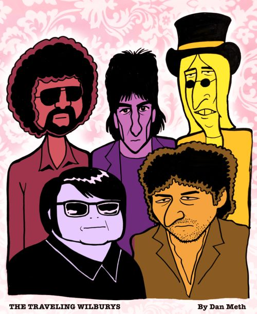 The Ensemble  The Traveling Wilburys  (Jeff Lynn, George Harrison, Tom Petty, Roy Oribison & Bob Dylan)