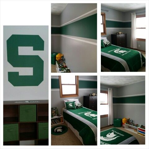 MSU bedroom, Michigan State University