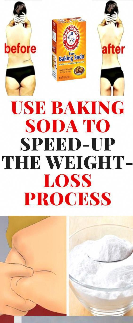 Eating baking soda for weight loss