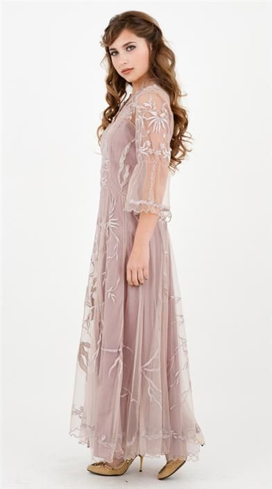 Perfection!!! Going Away Dress  ELIZABETH GOWN-Victorian Trading Company
