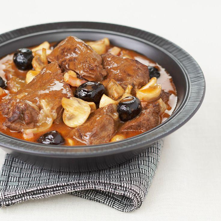 Découvrez la recette de l'estouffade de boeuf à la provençale