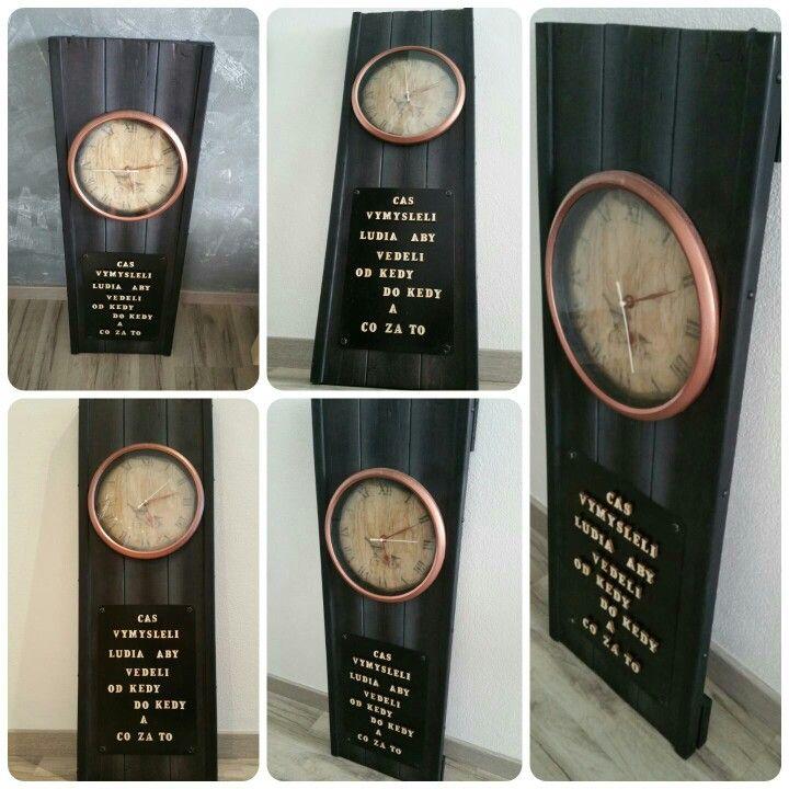 Wall clock-Čas...