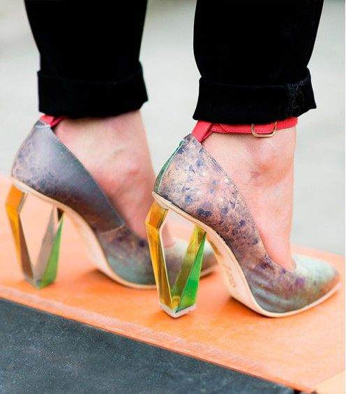 Spring's Chicest Footwear--Straight From The Streets