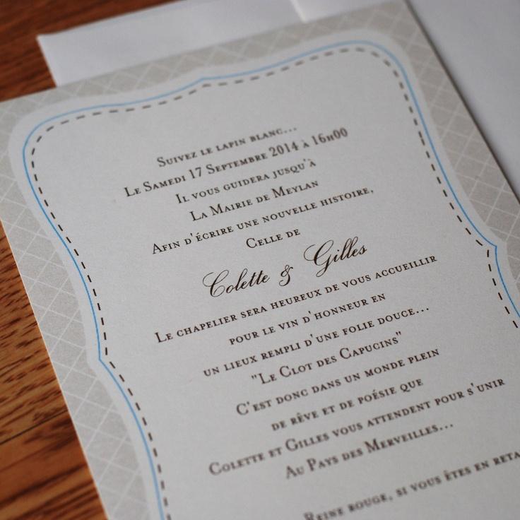 addressing wedding invitations married woman doctor%0A French Border Design Wedding Invitations        each  via Etsy