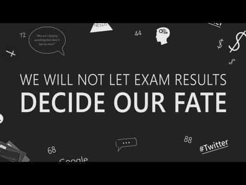 I Will Not Let An Exam Result Decide My Fate || Kinetic Typography - YouTube