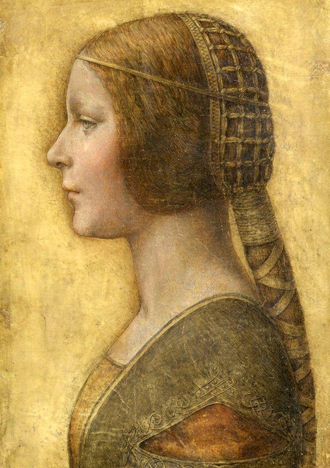 a lost treasure, La Bella Principessa, Leonardo Da Vinci