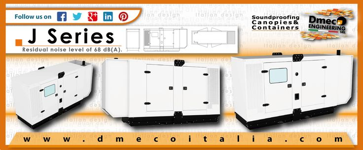 Dmeco Engineering // J Series // www.dmecoitalia.com // #dmeco #dmecoengineering #engineering #soundproofing #container #canopy #generator #genset #rental #products #italiandesign #italianconcept #italianproducts #madeinitaly #InTheWorld