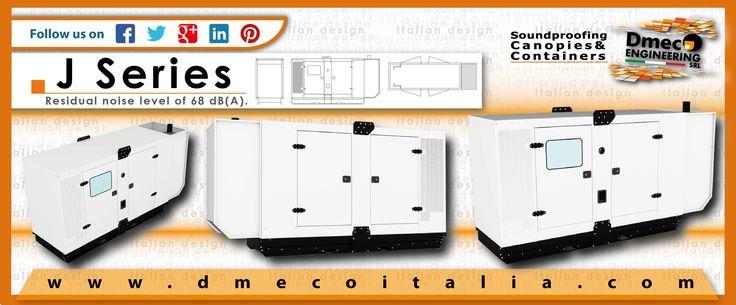 Dmeco Engineering // J Series // www.dmecoitalia.com // #dmeco #dmecoengineering #engineering #soundproofing #container #canopy #generator #genset #rental #products #italiandesign #italianconcept #italianproducts #madeinitaly #InTheWorld